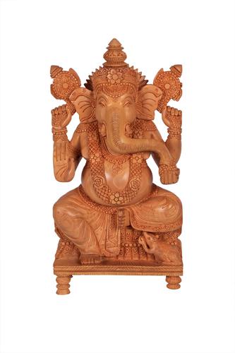 Unique Ganesh Special Singhasan Wood