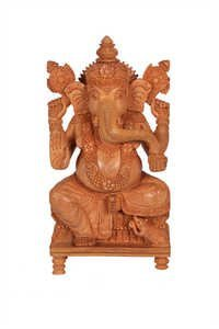Unique Ganesh Special Singhasan Wood