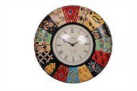 Antique Colourfull Wall Clock 12*12