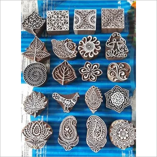 Indian Heena Stamp N Blocks