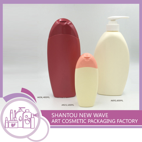 Plastic Packaging of Personal Care Empty Cream Shampoo Bottle