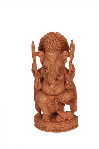 Unique Wooden Goal Ganesh
