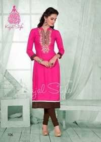 Traditional embroidered kurtis