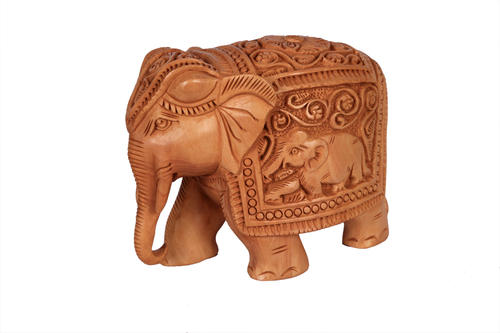 Unique Elephant Relot Wood 4