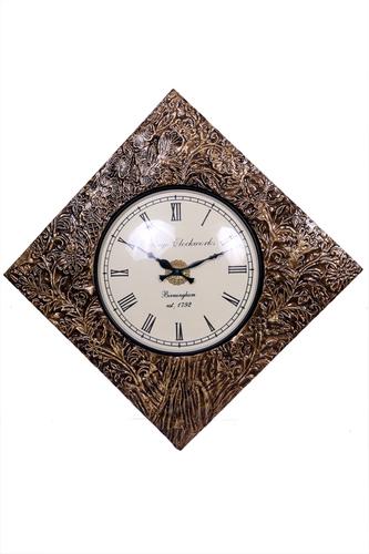 Antique Brass Wall Watch 18*18