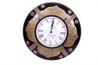 Antique Brass Wall Clock 12*12