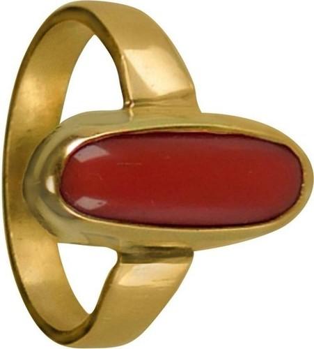 MOONGA PUNCH DHATU RING