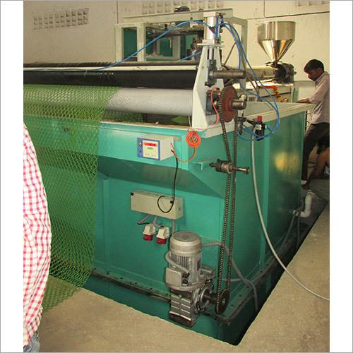 Extruded Plastic Net Machine