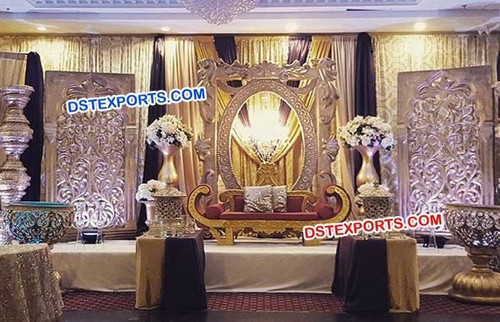 King Wedding Big Fiber Stage Panels