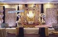King Wedding Big Fiber Stage Panels