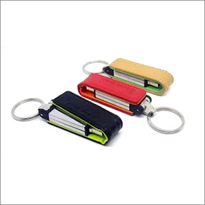 Leather Keyring Pen Drives