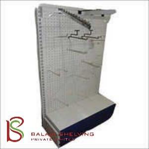 Perforated Wall Shelving Racks
