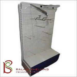 Perforated Wall Shelving Racks