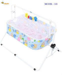 Light Blue Baby Comfy Cradle