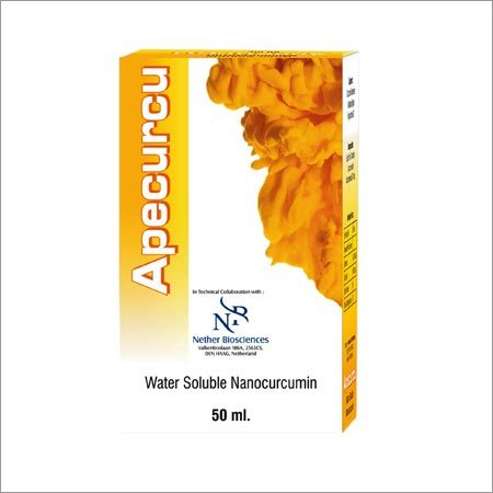 Natural Water Soluble Nano Curcumin