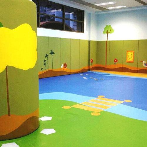 Indoor Kids Playground Flooring
