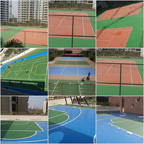 Badminton Court Flooring Services