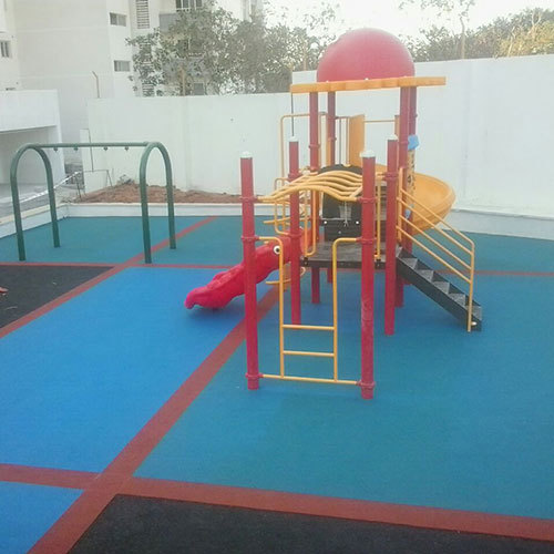 Kids Playground Flooring Service