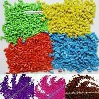 Colored Plastic Granules