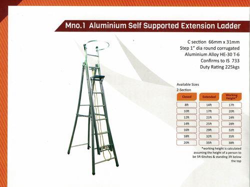 Aluminium Industrial Ladders- 1