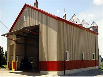Steel Building Manufacture