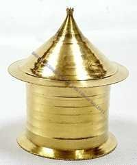 Brass Sindoor Pot