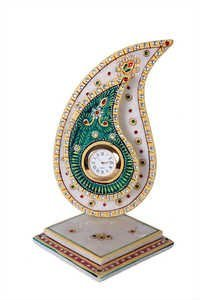 Antique Marble Traffy Clock