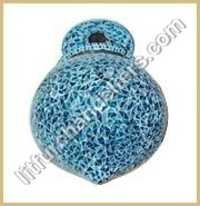 Blue Bell Mosaic Hanging Lamp