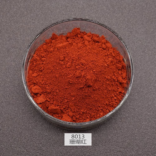 Red Stain Pigments