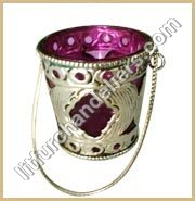 White Metal Votive