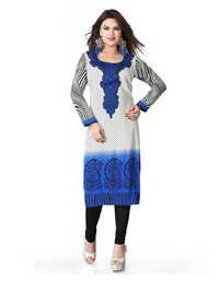 Beautiful Printed Crepe Kurti