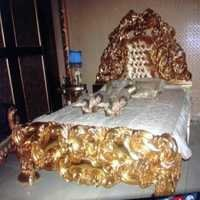 Golden Color Bed