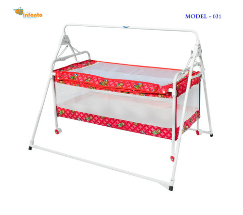 Attractive Red Color Sleeping Bassinet For Baby