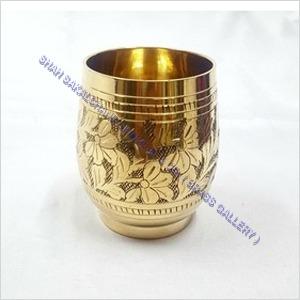 Brass Nakshi Glass