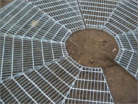 Round Grating Fabrication