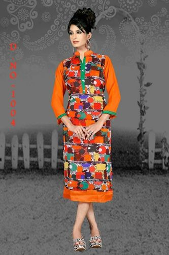 Women Georgette Kurta