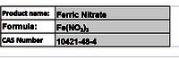 Ferric Nitrate