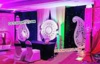 Reception Wedding Paisley Panels Decoration