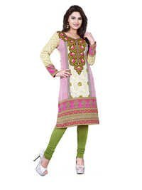 Lovely American Crepe Kurti