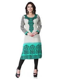 Gorgeous American Crepe Kurti