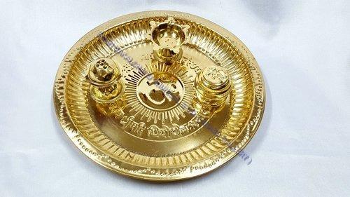 Brass Pooja Thali