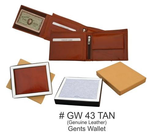 Genuine Leather Men's Wallet
