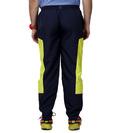 Men's Navy&green Trackpants