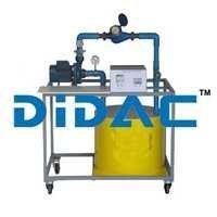 Centrifugal Pump Test Set