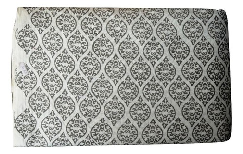 Indian Hand Block Printed Cotton Geometrical Fabric