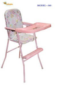 Portable Baby High Chair- Pink
