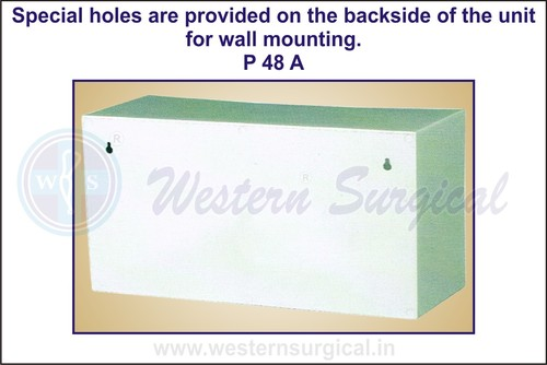Special Holes Are Provided On The Backside Of The