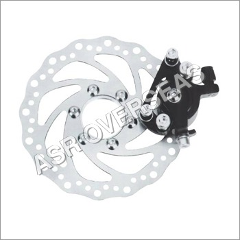 Bicycle Disc Brakes with Machine