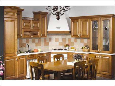 Solidwood Modular Kitchen
