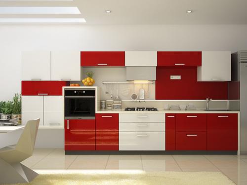 Lacquer Modular Kitchen
